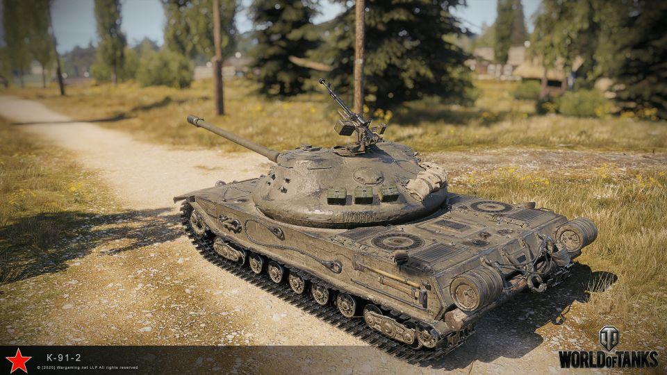 Supertest: Charlemagne a K-91 verze II