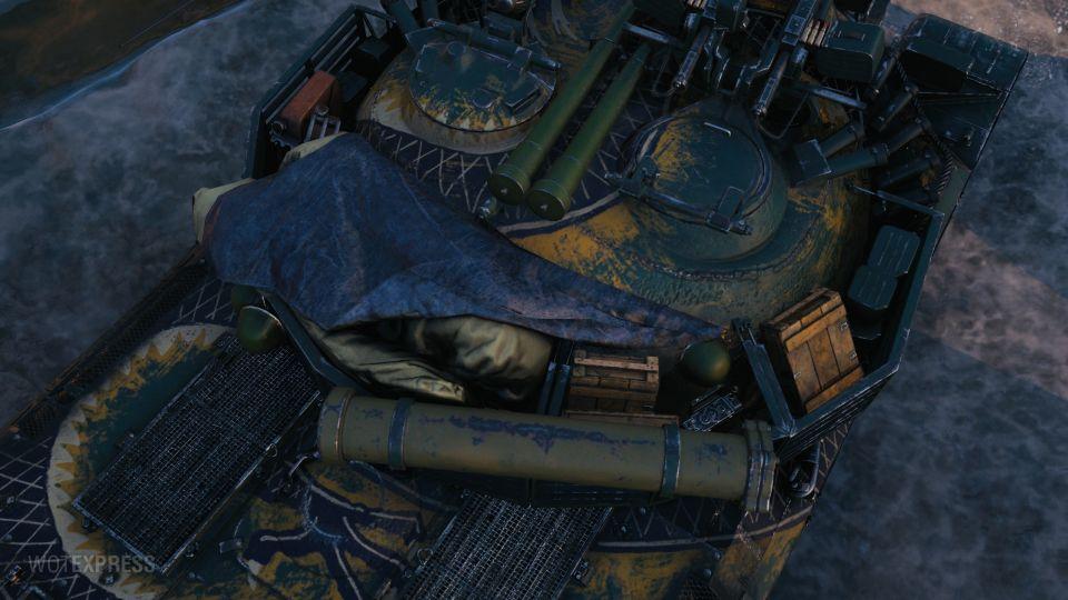 """""""The Last Dragon"""" 3D maskování pro WZ-111 model 5A"""