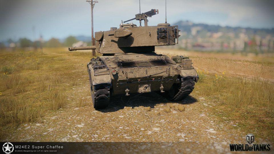Aktualizace 1.10.1.4: Změna vlastností M24E2 Super Chaffee