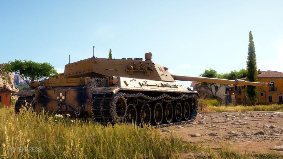 Herní obrázky tanku Progetto C50 mod. 66