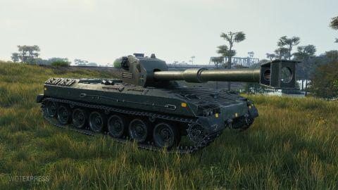 Bofors Tornvagn na bojišti