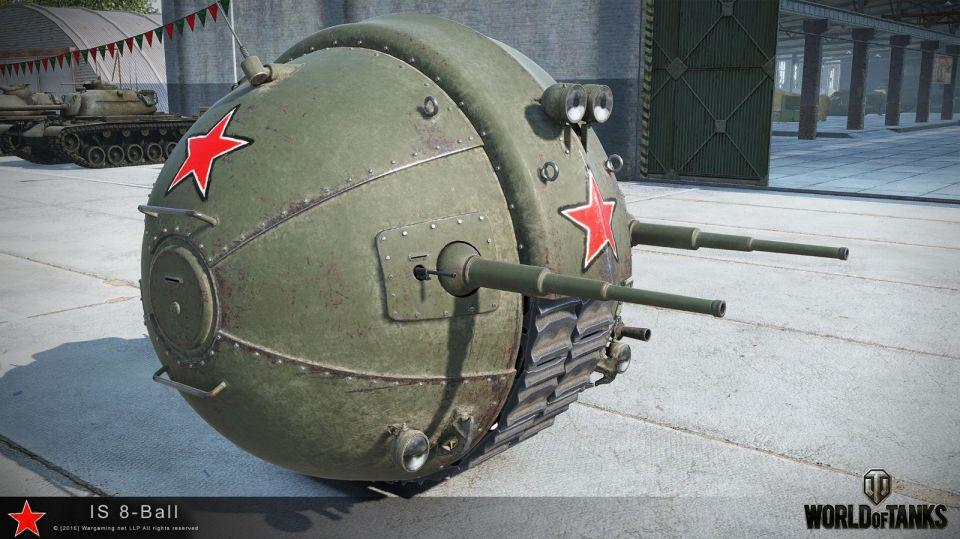 IS-8 Ball Tank v reálném světě