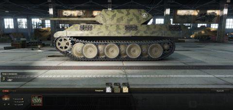 Nátěry polských tanků