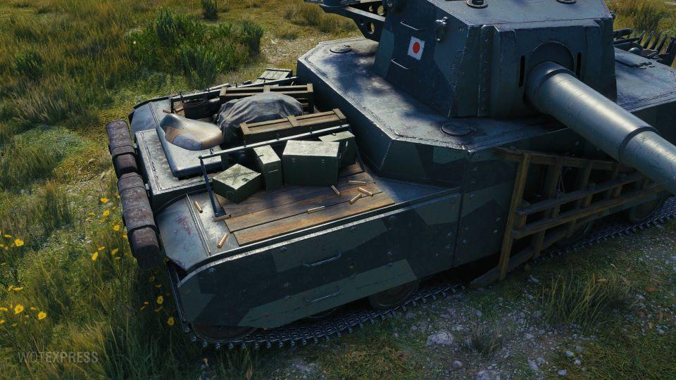 """1.11.1: Další fotky maskování """"Kaiju"""" pro Type 5 Heavy"""