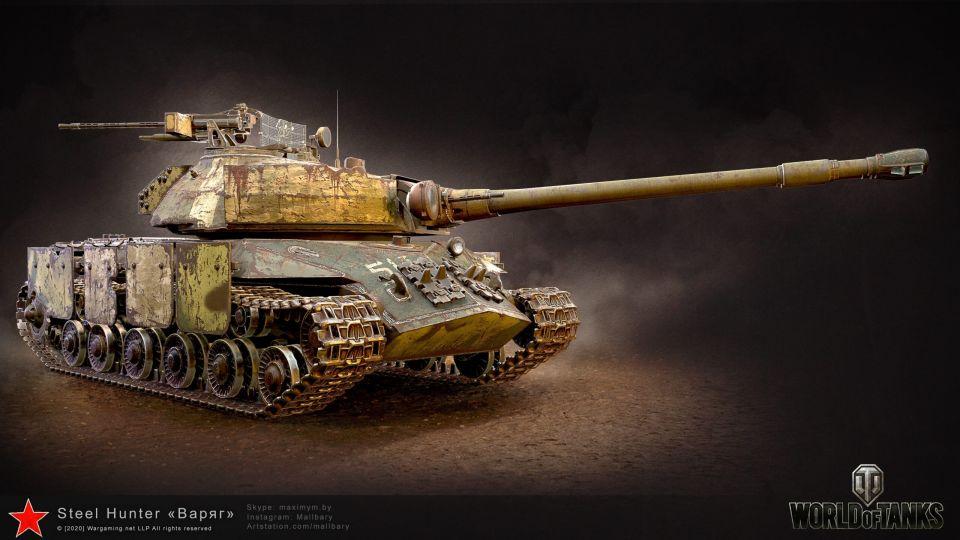 Custom modely tanků