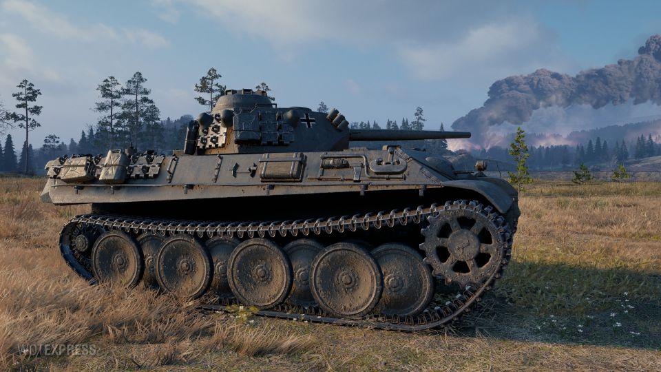 Aufklärungspanzer Panther na bojišti