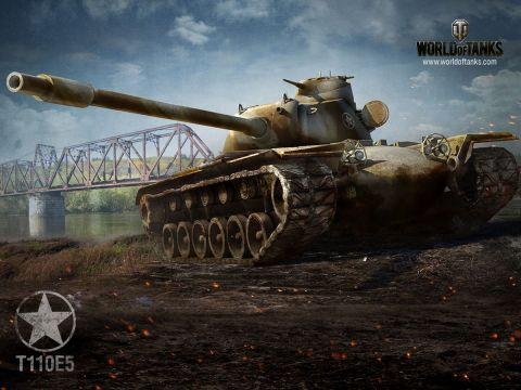 Změny pancéřování pro Type 5 a T110E5
