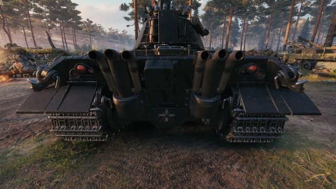 "Black Market 2021: ""Nimmermehr"" 3D styl pro E 50 Ausf M"