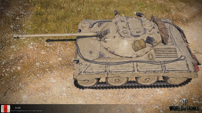 Obrázky z bojiště tanku A46
