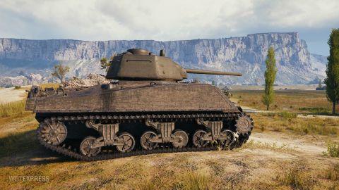 Kompletní vlastnosti tanku M4A2 T-34