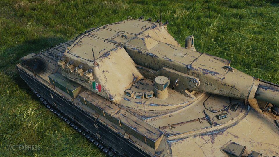 Supertest: Opět změny na tanku Rinoceronte