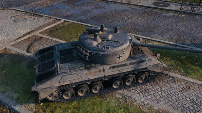 1.11.1: Drobné úpravy tanků Charlemagne a Kpz 07 RH