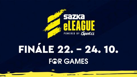 Zažij finále Sazka eLEAGUE na For Games!