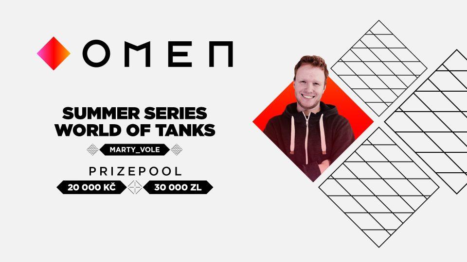 Startuje turnajová série OMEN Summer Series 2020!