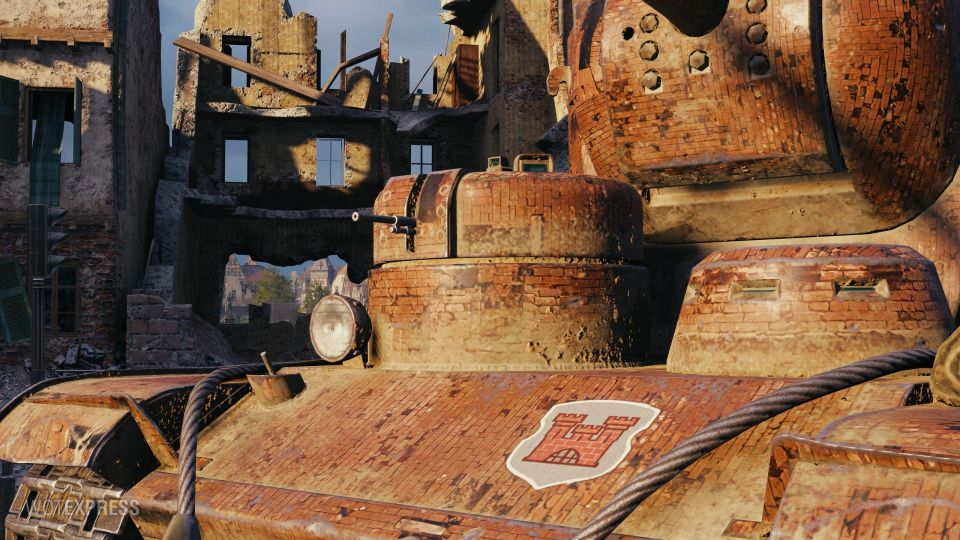 """2D style """"Red Fortress"""" pro KV-5"""