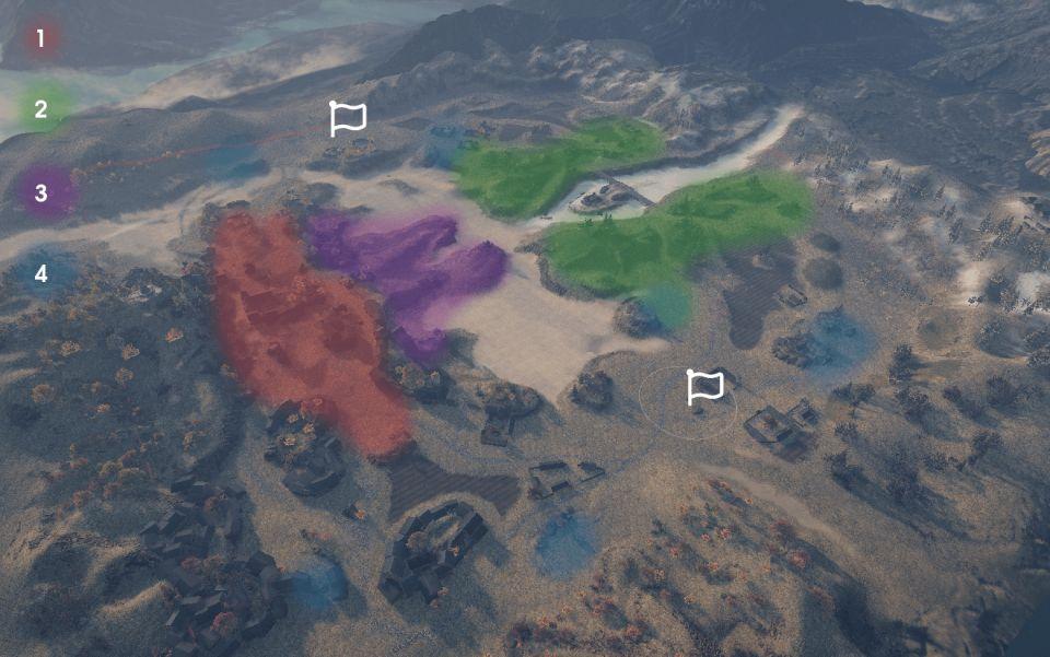 """Supertest: Mapa """"Duke of Zhou Ravine"""""""