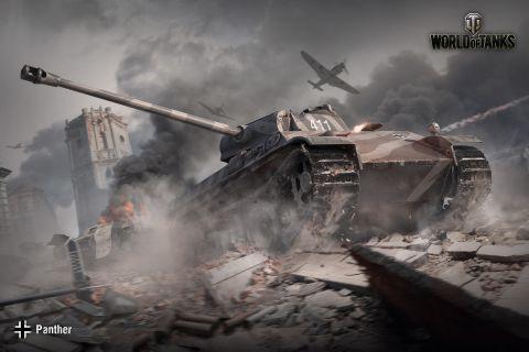 Bližší pohľad na Panther (Ausf. F)