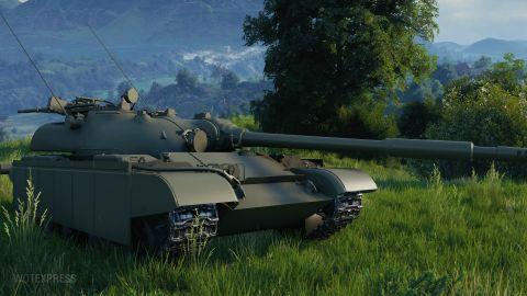 Fotky tanku Object 590