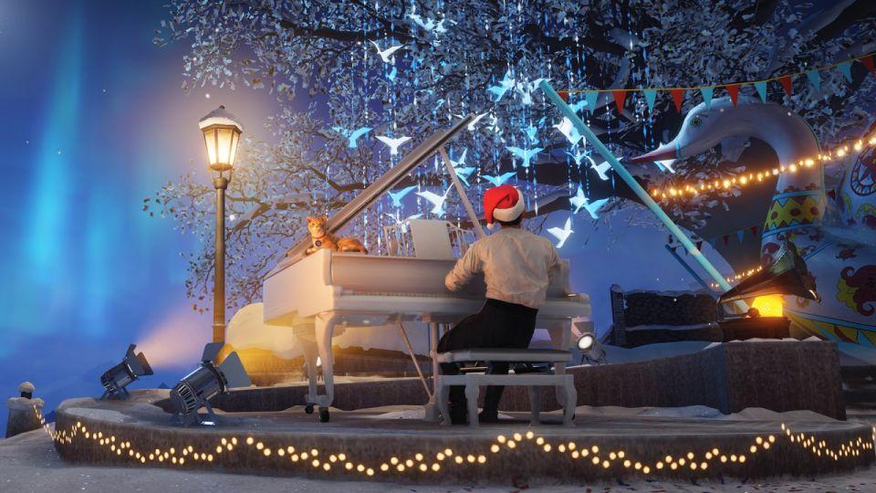 Holiday Ops 2021: Obrázky vánoční garáže