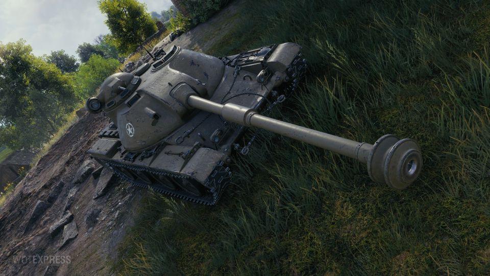 Drobné úpravy tanku ASTRON Rex 105 mm