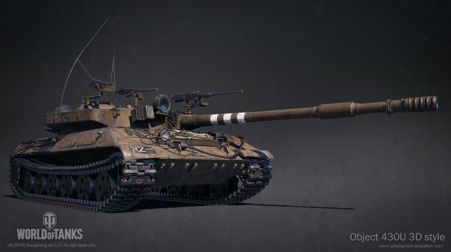 "WoT: Object 430U 3D ""Kelevra"" styl"