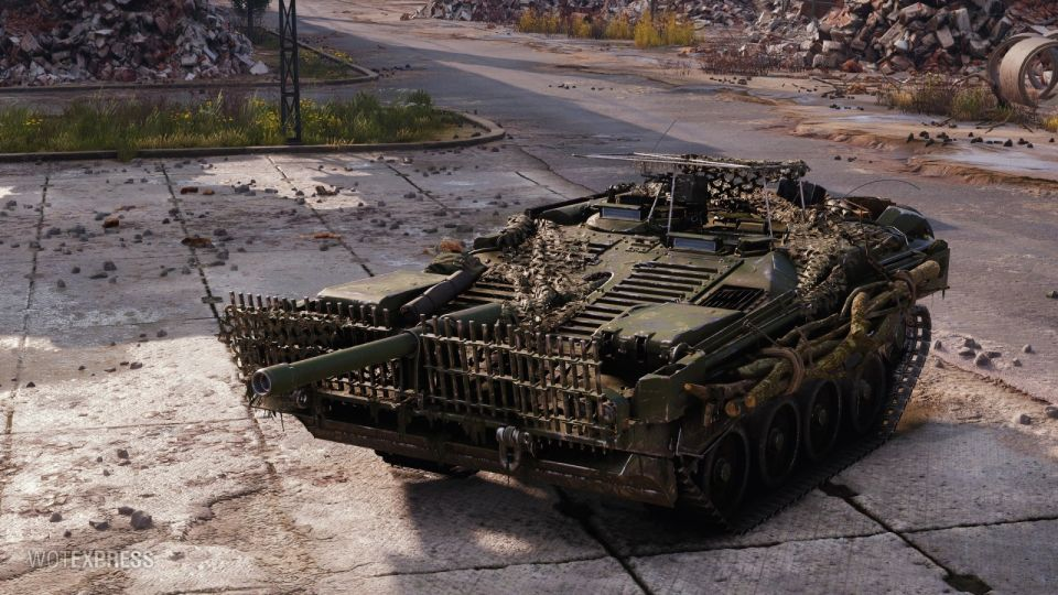 """Helheim"" 3D style pro Strv 103B"
