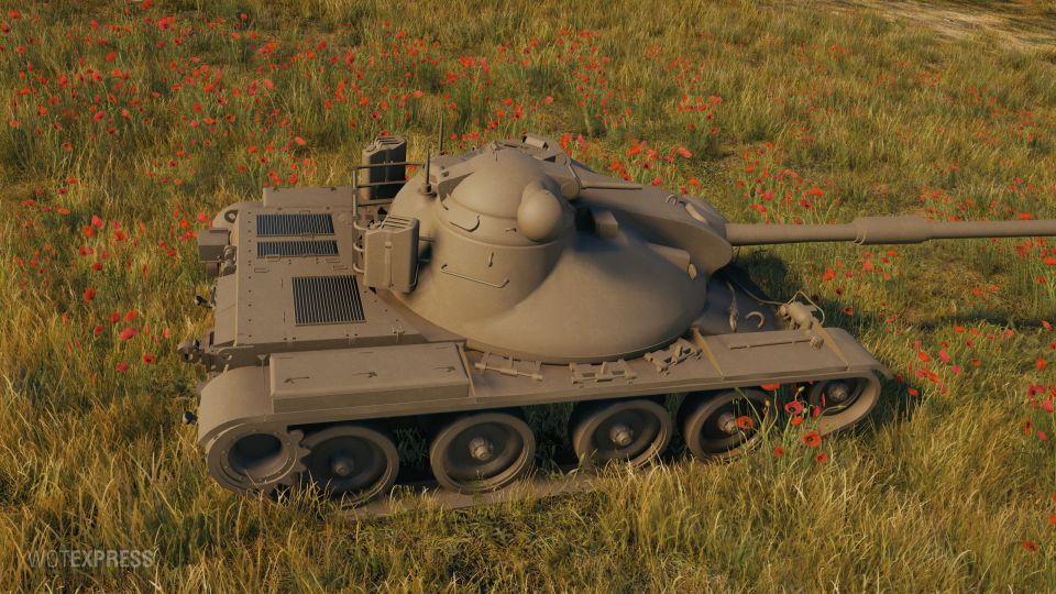 Kompletní vlastnosti tanku ASTRON Rex 105 mm