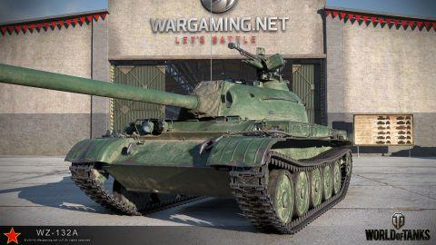 WZ-132A: Nový čínsky ľahký tank