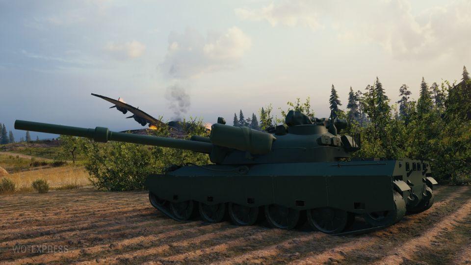 Herní obrázky tanku 122 TM