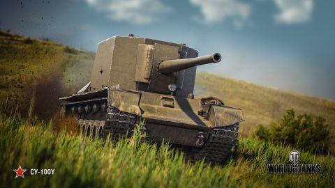 Bližší pohľad na SU-100Y