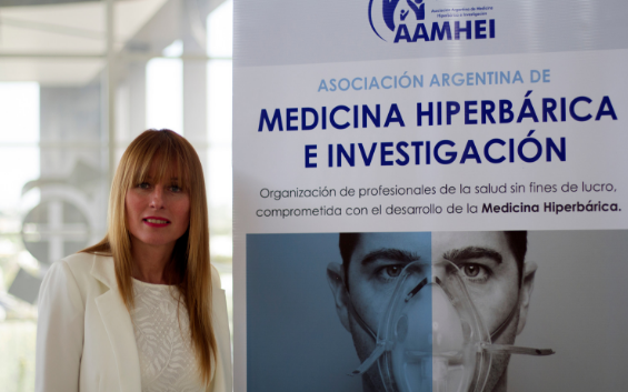 Dr. Mariana Cannellotto will preside the AAMHEI