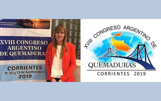 AAMHEI estuvo en el Congreso Argentino de Quemaduras