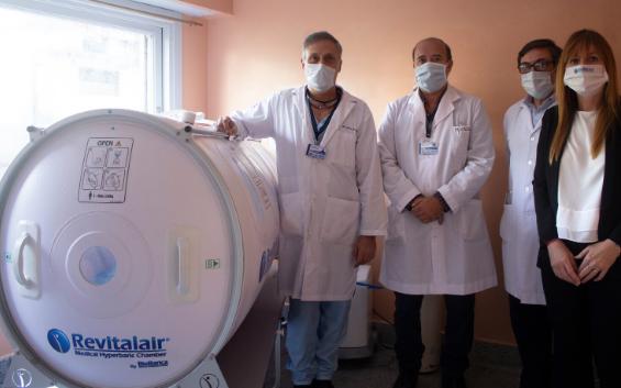 El Hospital Central de San Isidro incorpora nuevo tratamiento en pacientes infectados con COVID-19