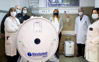 The Muñiz Hospital now has a Hyperbaric Chamber for the treatment of patients infected with COVID-19