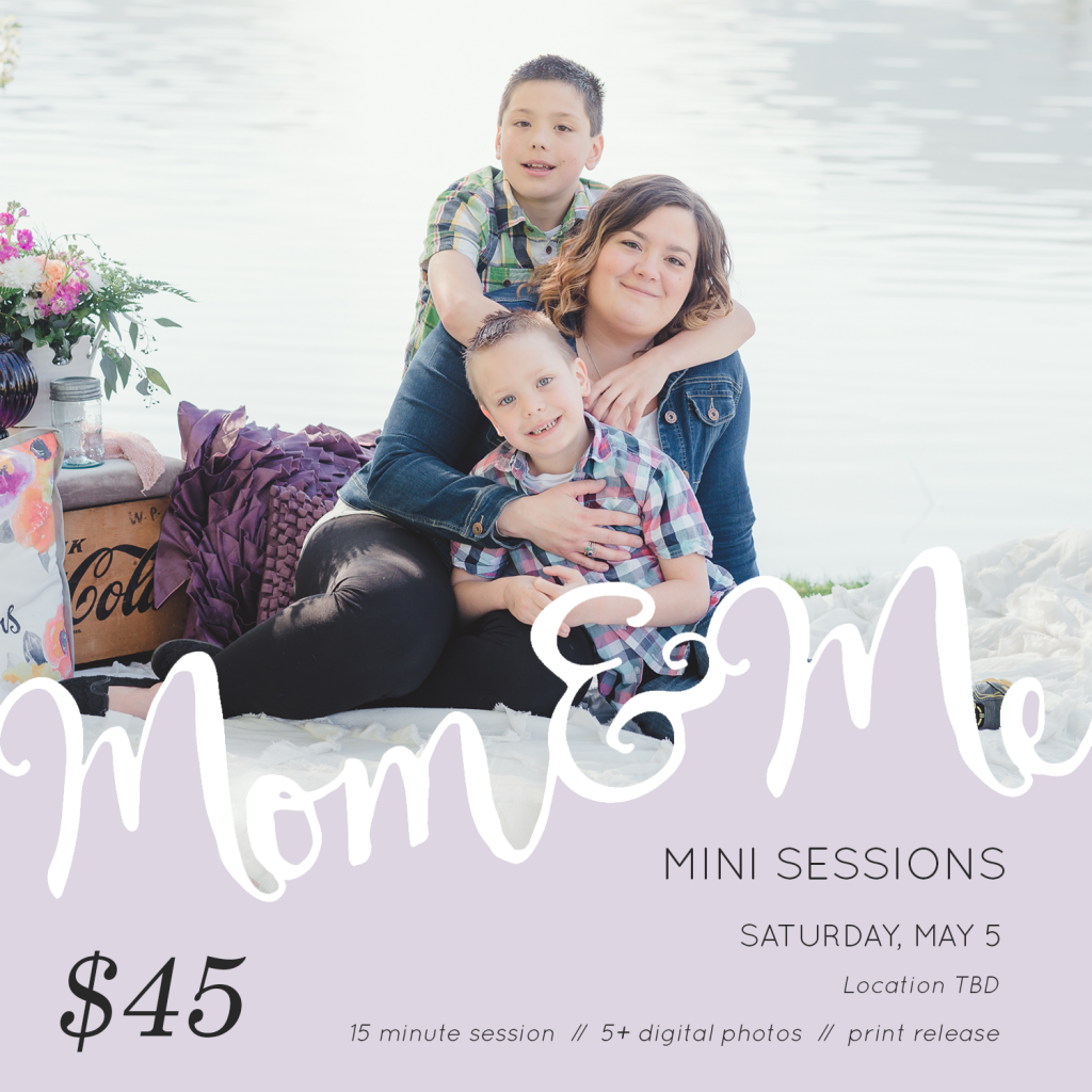 Mom and Me Minis 2018 Coming!