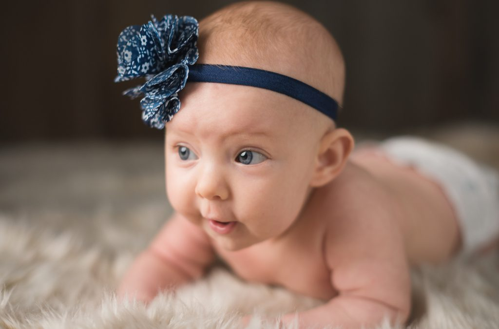 Miss B is 3 Months! | Milestone Session