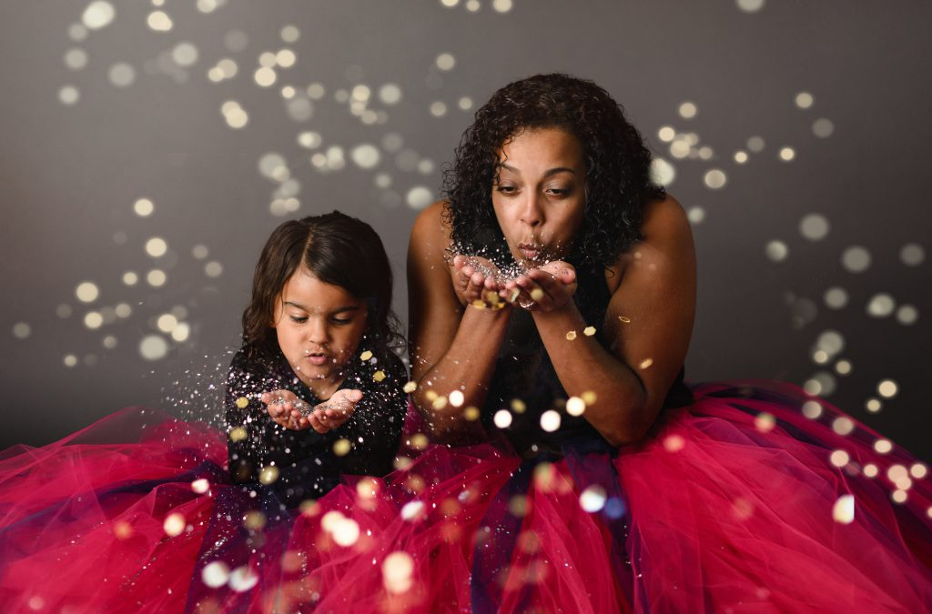 Allison and Brooke {Glitter Session}