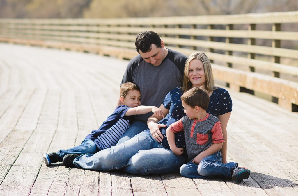 Collette and Family {Maternity}