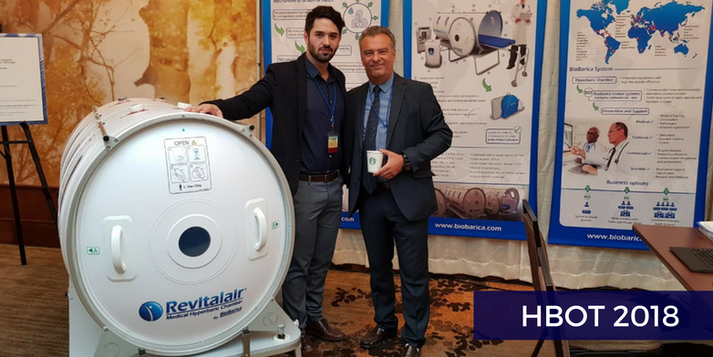 BioBarica at the hyperbaric medicine symposium