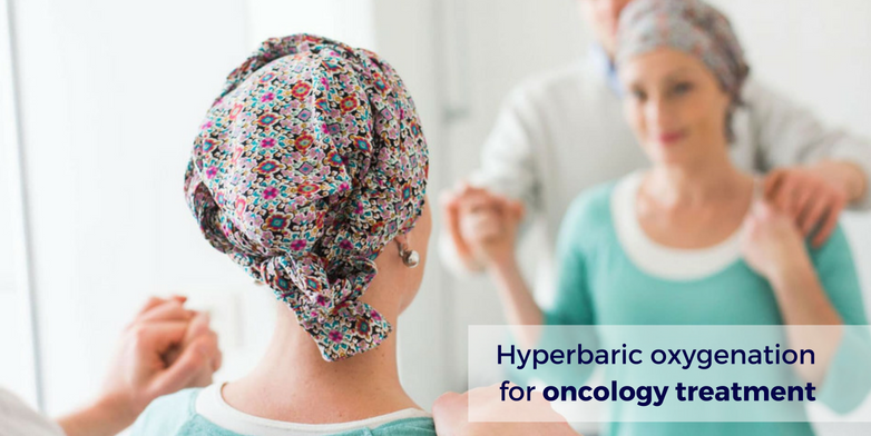 Hyperbaric oxygenation treatmente for tumor