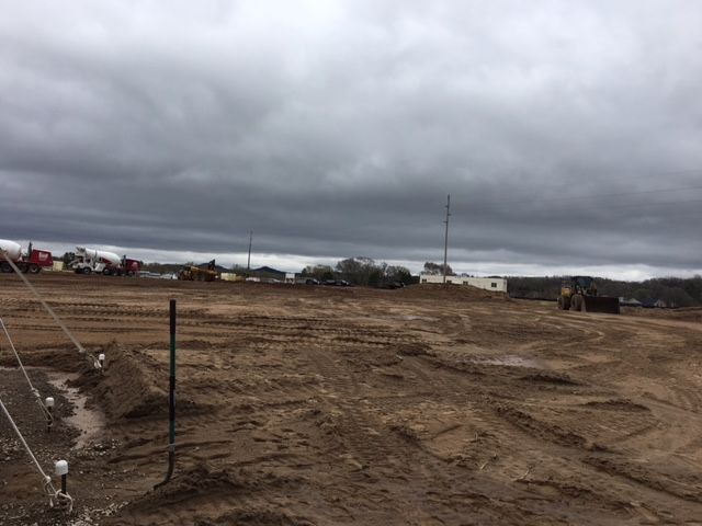 Site of groundbreaking in Holmen