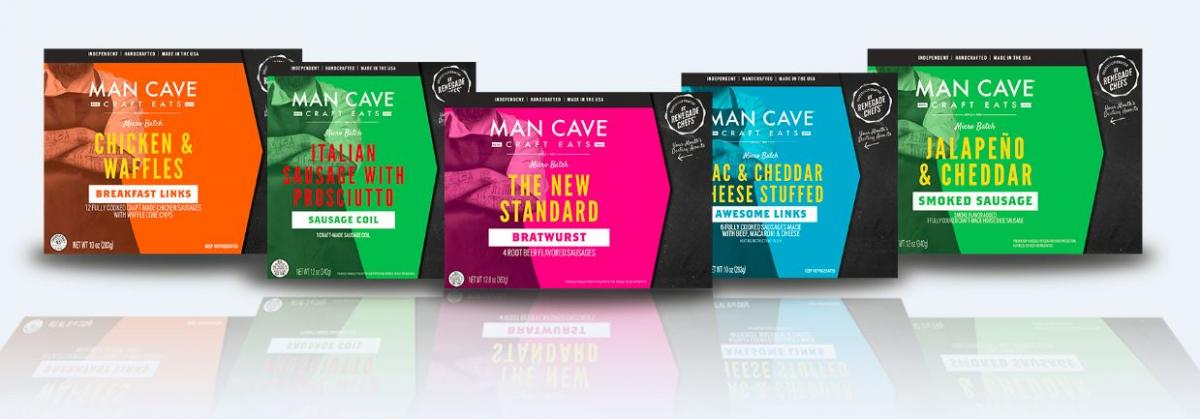 Man Cave Craft Meat packaging