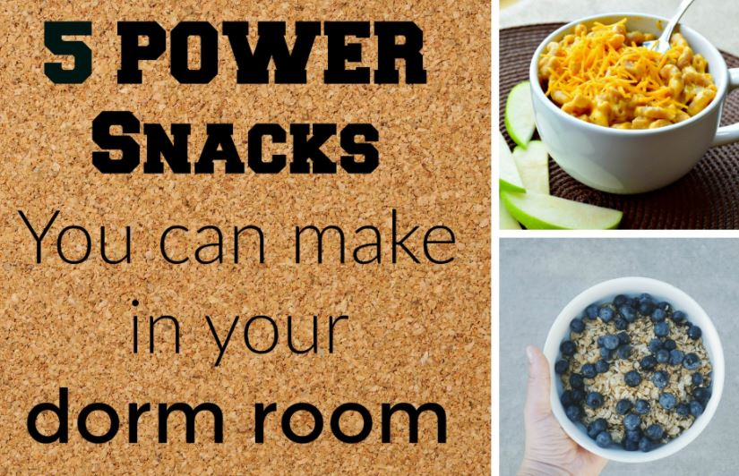 dorm room snack options