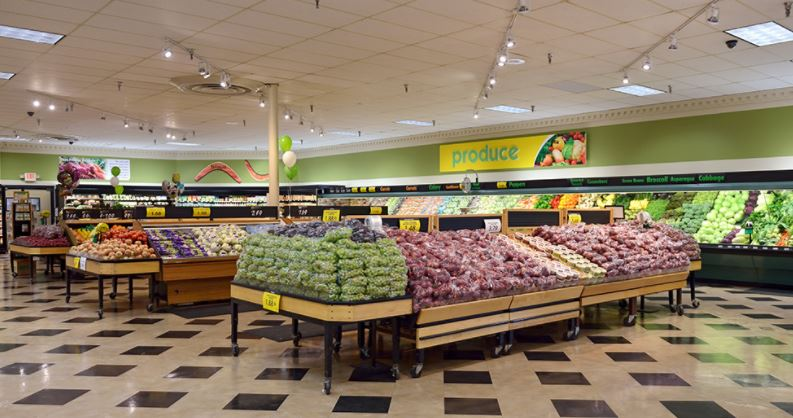 Portage produce area