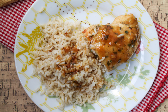 Maple-Dijon Chicken with Brown Rice | Eat Well at Festival Foods