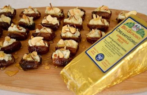 Blue cheese stuffed dates