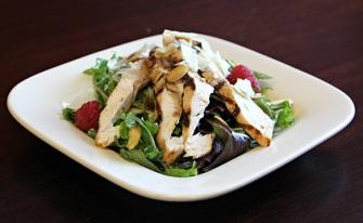 Raspberry BellaVitano Grilled Chicken Salad