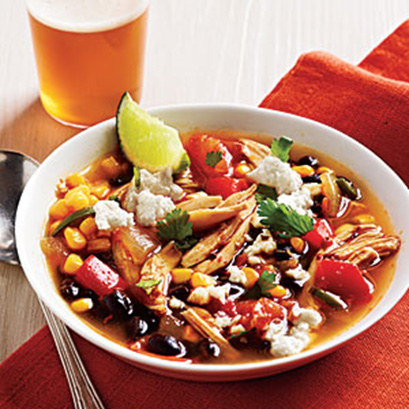 Tex Mex Chicken Soup #festfoods