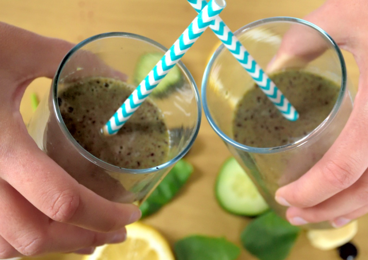 Blueberry Green Smoothie | Eat Well with Festival Foods