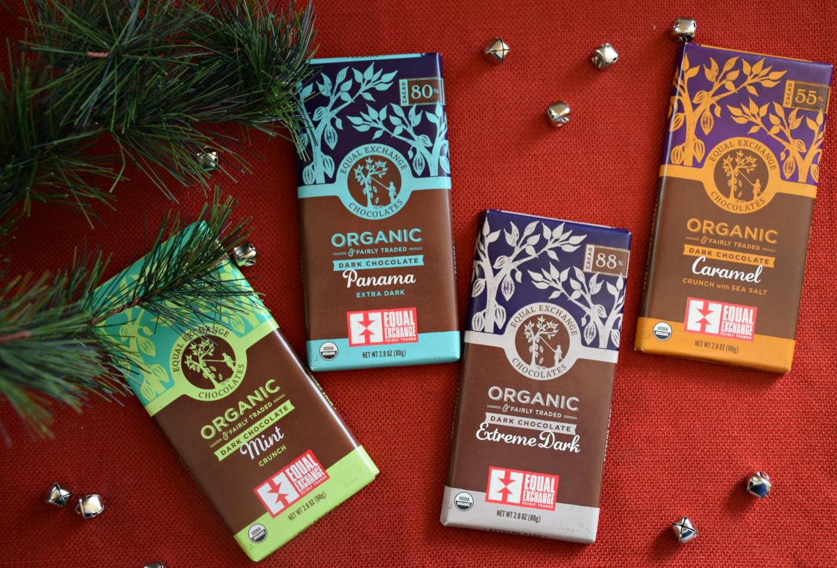 Equal Exchange Chocolate Bars